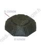 2 filtres charbon brandt 71X9654