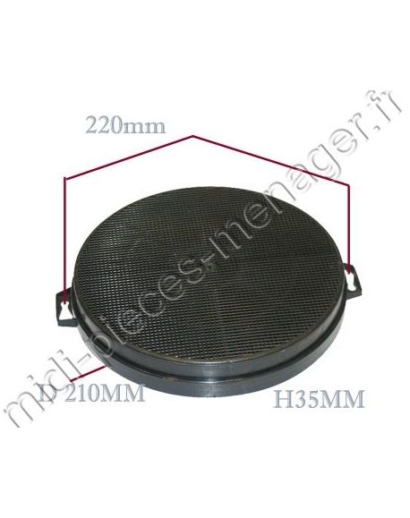 filtre à charbon type B210 brandt 71X8574