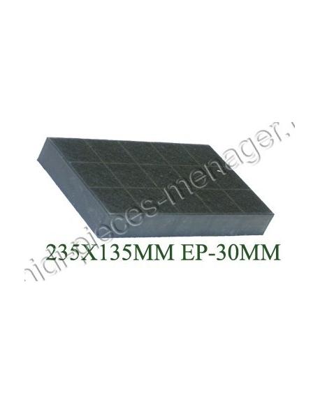 filtre a charbon rectangulaire type 237 brandt 71X8368