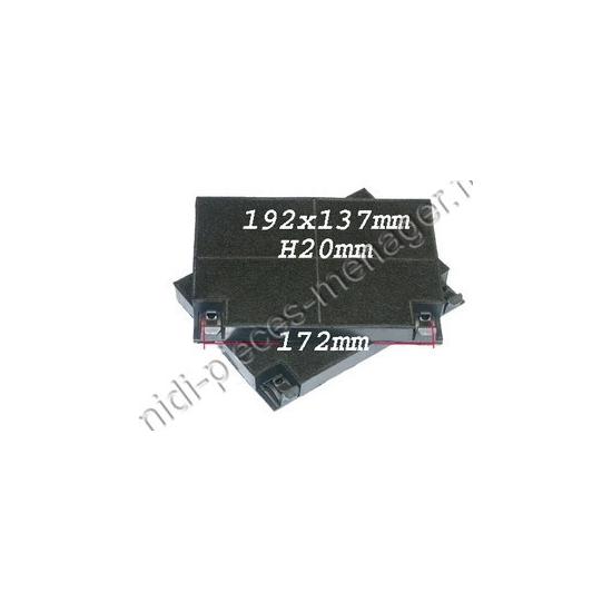 C00308166 - 2 filtres charbon