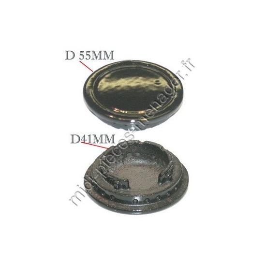 93597706 - Chapeau de bruleur cache-plaque cuisiniere