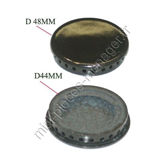77X0952 - Chapeau de bruleur semi rapide diametre 47 brandt fagor