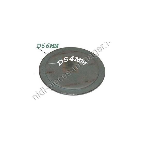 chapeau de bruleur diametre 66 brandt 71X5067