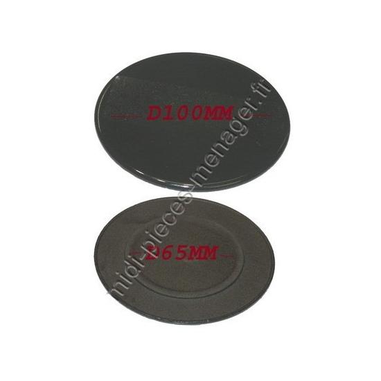 C00052931 - Chapeau de bruleur diamètre 65 Ariston Whirlpool