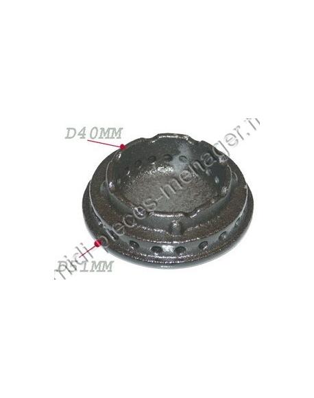 chapeau de bruleur diametre 36 rosieres 93592889