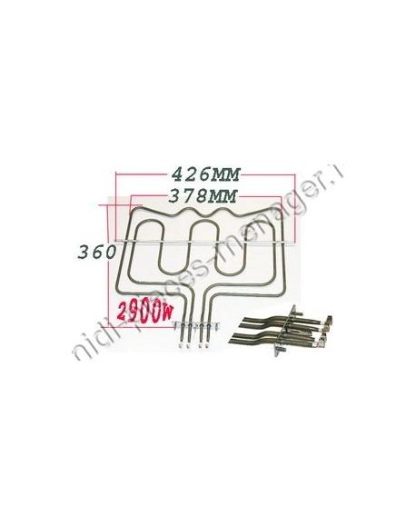 resistance voute 1000+1900w electrolux 3192081044