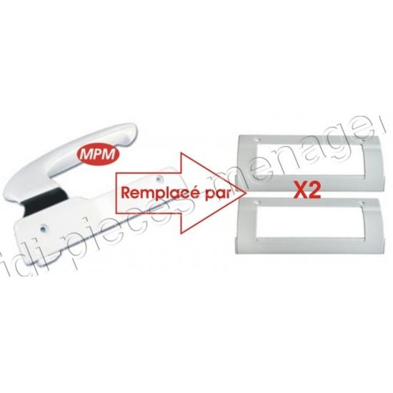 poignee de porte blanche pour refrigerateur electrolux 960018281