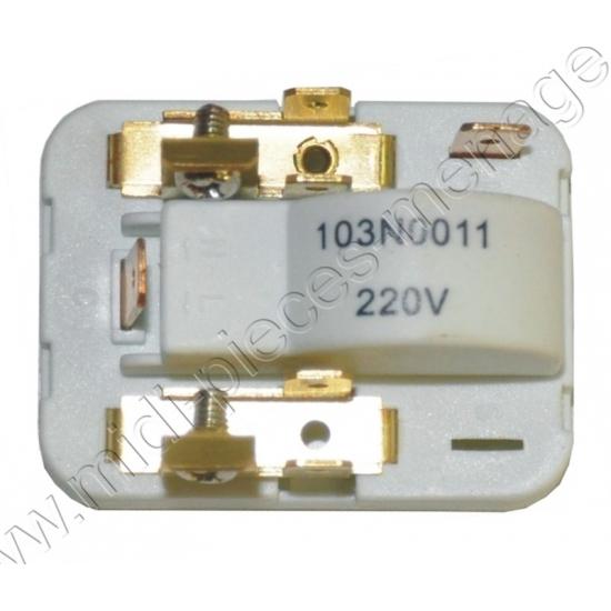 134001 - Relais danfoss 1/10-1/4cv 103n0011