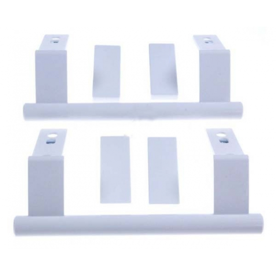 9096036 - Kit de 2 poignees de porte refrigerateur congelateur