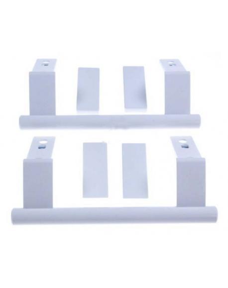 kit de 2 poignees de porte refrigerateur congelateur liebherr 9096036 909603600