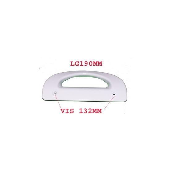 poignee verticale blanche pour refrigerateur electrolux 960012896