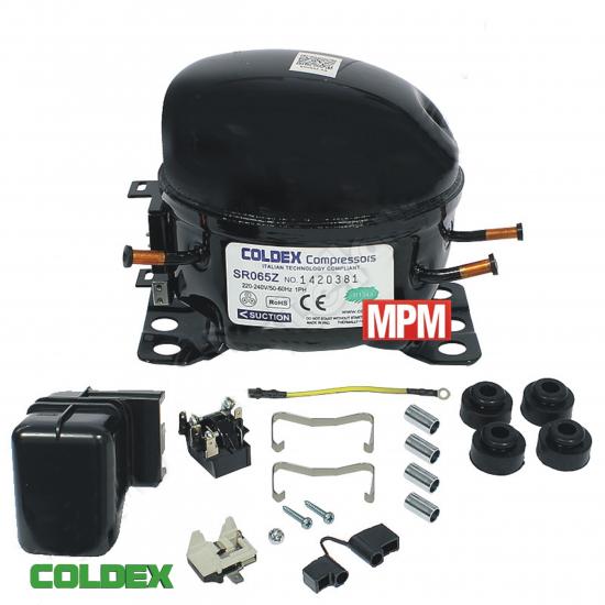 SR065Z - compresseur refrigerateur COLDEX R134A - 1/6