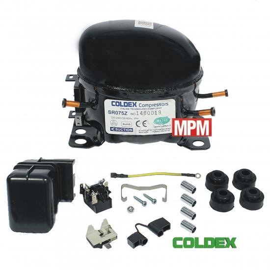 SR075Z - compresseur refrigerateur COLDEX R134A - 1/5+