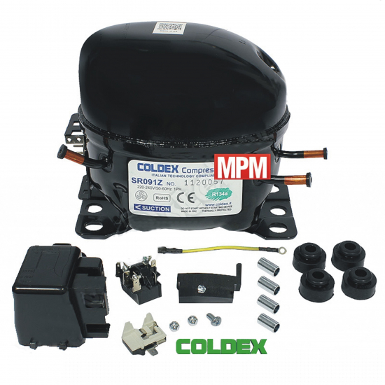 SR091Z - compresseur refrigerateur COLDEX R134A - 1/4