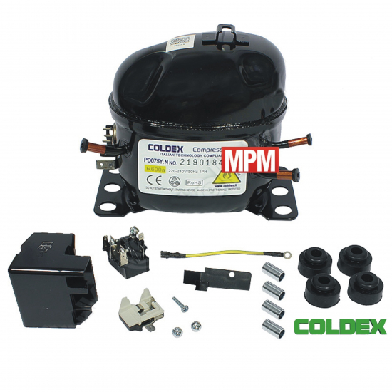 PD075Y.N - compresseur refrigerateur COLDEX R600A - 1/8