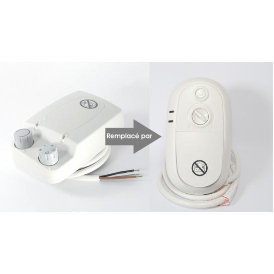 boitier de commande blanc apollo radiateur delonghi AMALFI