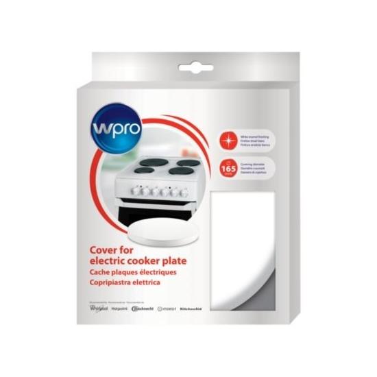 CQB170 - Cache plaques électriques blanc diametre 165 WPRO 484000008620