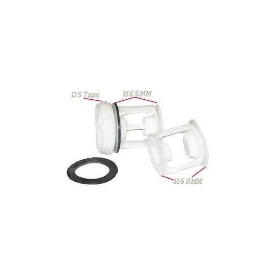 kit filtre pompe de vidange lave linge indesit ariston C00045027 C00141034