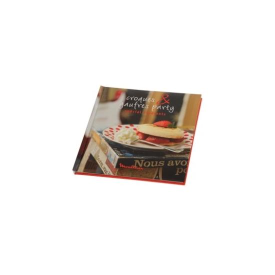 livres de recettes croques and gaufres moulinex XR002011