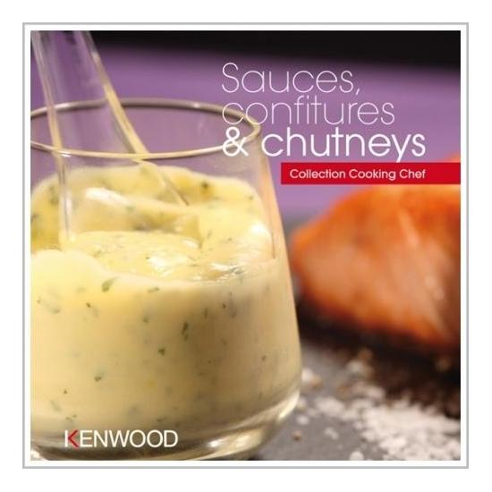 livres de recettes sauces, confitures et chutney kenwood PWK3654
