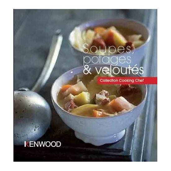 livres de recettes soupes, potages et velouté kenwood PWK3997