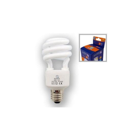 Lampe spiral E27 20W 8000h froide 100w restitué