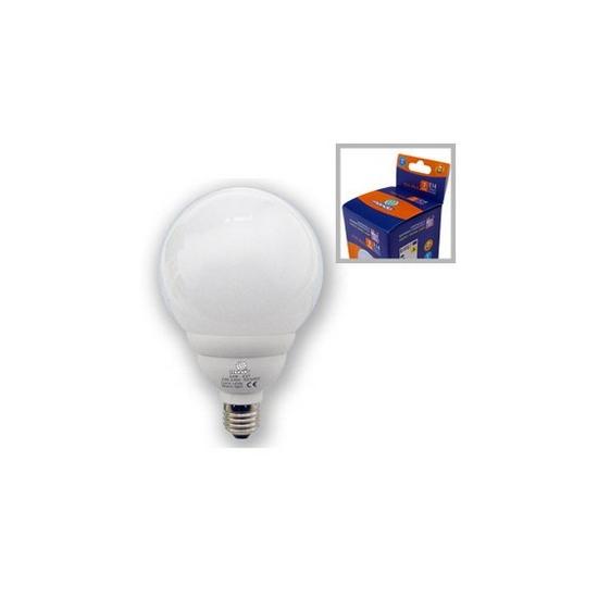 lampe eco globe E27 24W 8000h froide 120w restitué