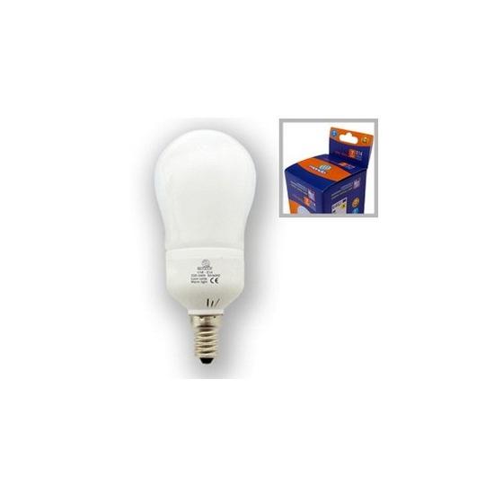 lampe eco mini goutte E14 11W 8000h froide 55w restitué