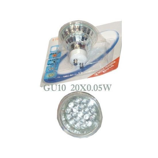 ampoule led U10 0.05W X 20