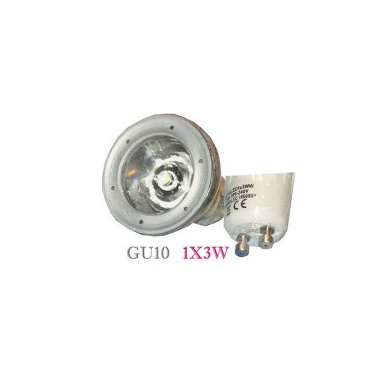 ampoule led GU10 1x3 W