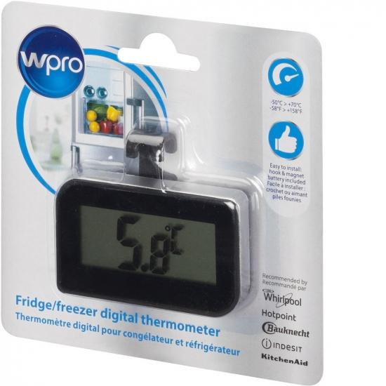 BDT102 - Thermomètre digital pour réfrigérateur et congélateur WPRO 484000008622