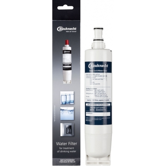 SBS103 - Filtre à eau interne Bauknecht - 484000008723