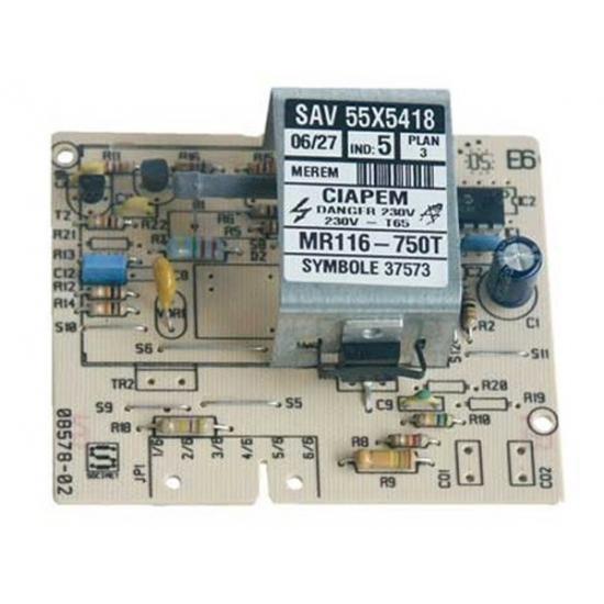 carte de puissance MR116 lave linge fagor brandt 55X5418