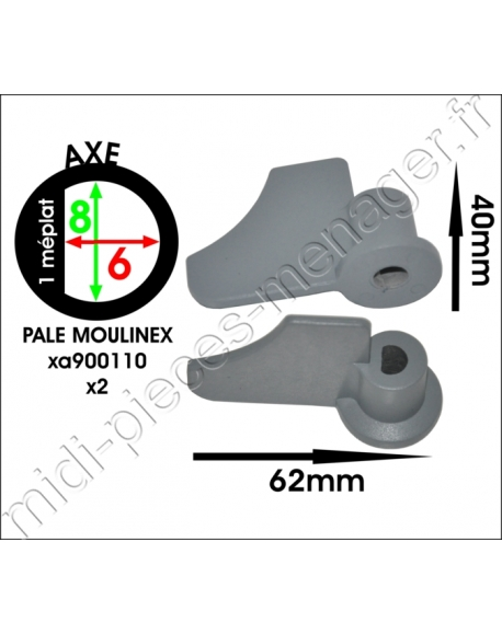 2 pales machine a pain MOULINEX bread maker xxl xa900110