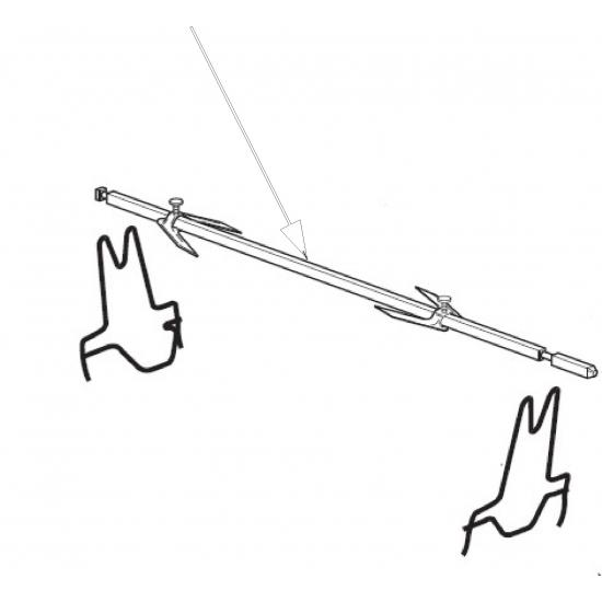 axe de tournebroche pour minifour delonghi serie 3800