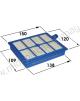 filtre hepa efh12w lavable pour aspirateur elctrolux 9001951194