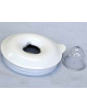 couvercle blanc + bouchon kenwood KW659564
