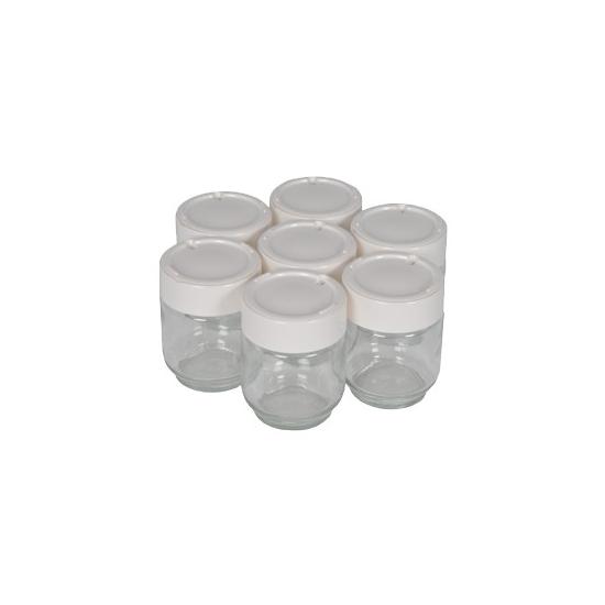 7 pots complet yaourtiere moulinex A14A03