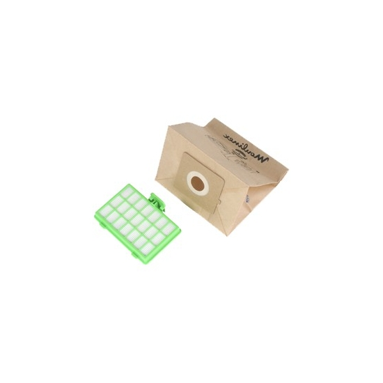 sacs + filtre hepa aspirateur moulinex zelio MT000501