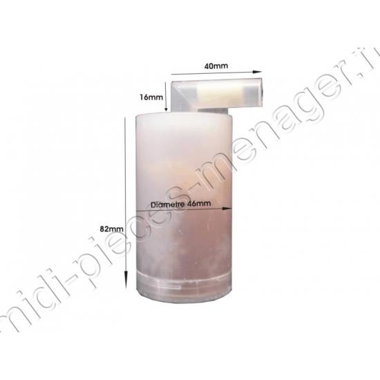 filtre anti calcaire centrale de repassage white and brown DB740