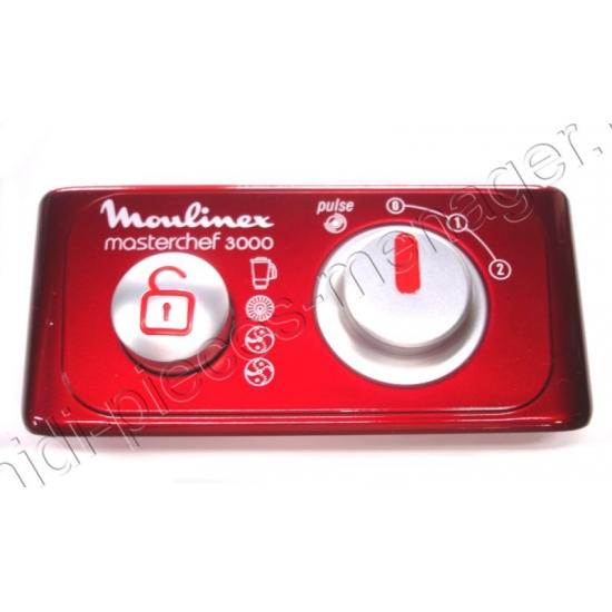 cadran complet et commutateur moulinex masterchef 3000 ms-0a12107
