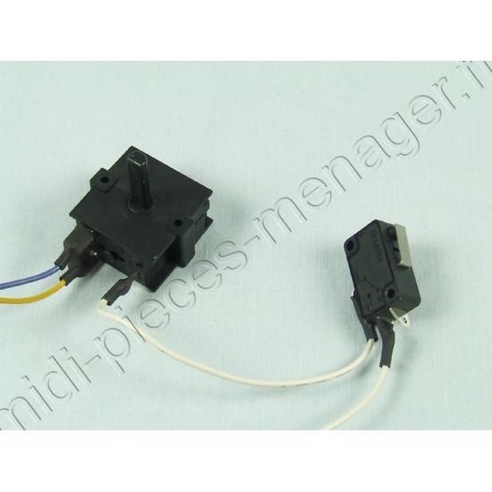 interrupteur complet centrifugeuse kenwood je680 KW714270