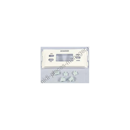 tableau de controle et bouton bleu cuiseur vapeur kenwood KW712381