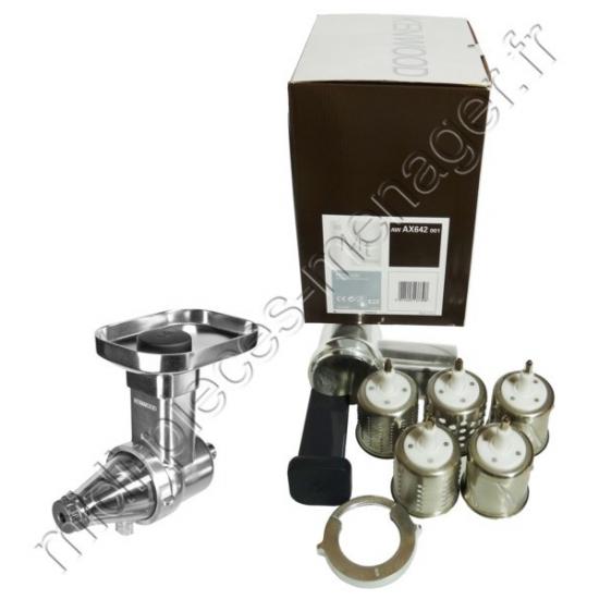 accessoire presse agrume et rape kenwood ax642 awax642001