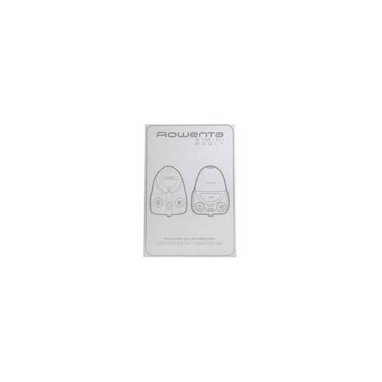 6 sacs aspirateur rowenta booly gimini ZR001701