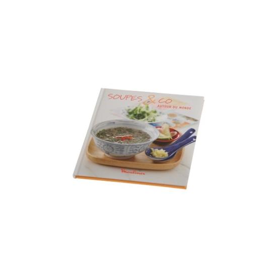 livres de recettes soup and co LM9 moulinex XR200000