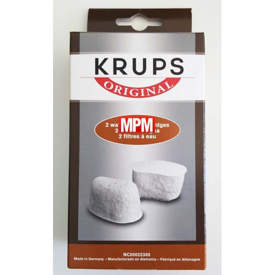 kit de 2 filtres anti calcaire cafetiere krups moulinex F4720057