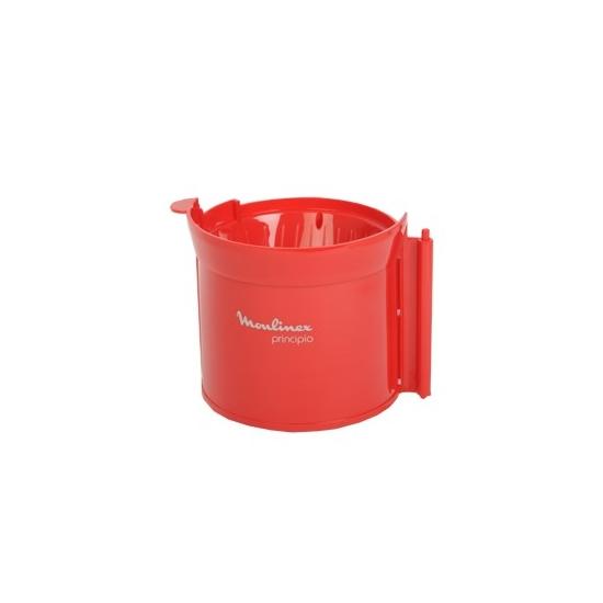 porte filtre rouge cafetiere principio FG111 moulinex SS-200557