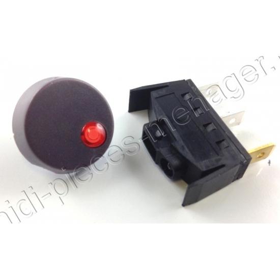 interrupteur complet centrale vapeur delonghi 5112810151