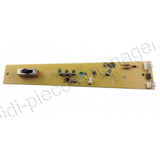 platine electronique aspirateur air force RH87 rowenta RS-RH5313